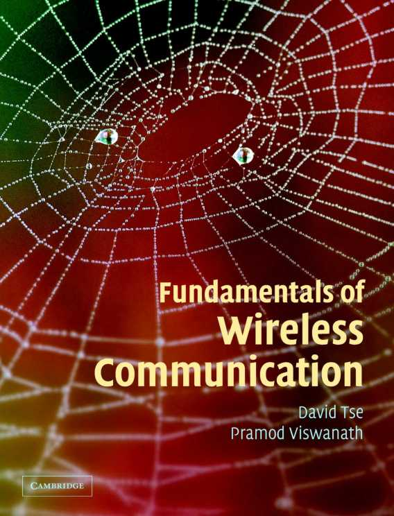 Book: Fundamentals of Wireless Communication